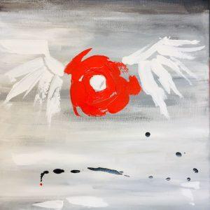 pintura angel